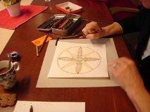 Foto Mandala tekenen